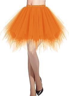 9fb21d88fd49d3 Dresstells Damen Tüllrock 50er Rockabilly Petticoat Tutu Unterrock Kurz  Ballett Tanzkleid Ballkleid Abendkleid Gelegenheit Zubehör
