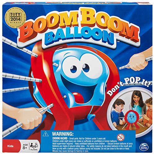 BOOM BOOM BALLOON - Juego de Reflejos, 2 o más Jugadores (Spinmaster Toys 6021932) [Importado de Inglaterra]