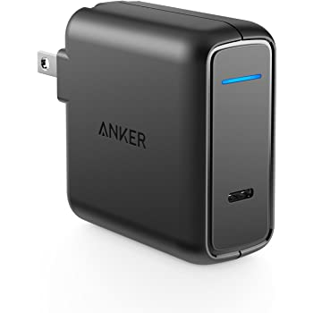 Anker PowerPort Speed 1 PD30 (30W USB-C急速充電器)【PSE認証済 / 折りたたみ式プラグ/急速充電/Power Delivery】Galaxy S9, Xperia XZ1 その他USB-C機器対応