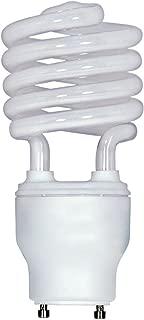 (6-Pack) Satco S8207 26-Watt 2700K GU24 Base Mini Spiral Compact Fluorescent Lamp, 120W Equal