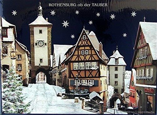 Rothenburg ob der Tauber - Photographic Advent Calendar - by Kreuter