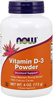 Now Supplements, Vitamin D-3 Powder, 4-Ounce