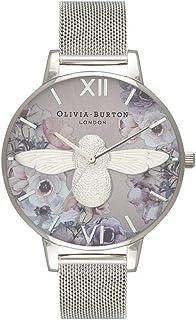 Olivia Burton Femme Analogique Quartz Montre avec Bracelet en Milanais OB16PP42