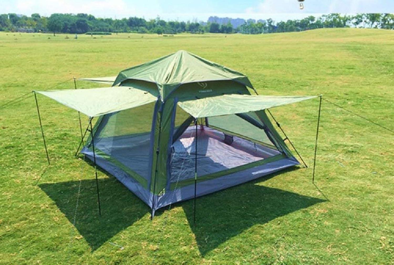 GZZ Guo Outdoor Produkte Outdoor Geeignet für 2-3 Personen, Das Zelt zu Verwenden, Camping Camping Strand Freizeit Zelte, Vier Seiten der Netzwerk-Belüftung Belüftung und Anti-Mosquito, Wasserdicht S