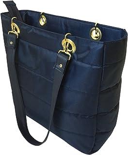 Skirtcode Bolsa para Mujer.Azul Marino.Ultra Ligera, Comoda y Practica. Disponible en Color Blanco,Negro,Azul Marino, Vino y Rosa.