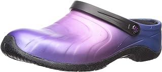 حذاء حريمي من AnyWear مصمم خصيصًا للعناية الصحية من الجلد الباهت مقاس 11 متوسط أمريكي