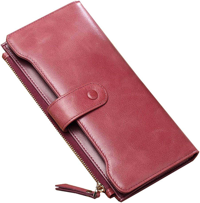 SHAN SHAN SHAN Frauen Brieftasche Weibliche Lange Handtasche Leder Brieftasche Leder DüNne Brieftasche Clutch Weibliche Modelle B07H7FFYH1 be17b3