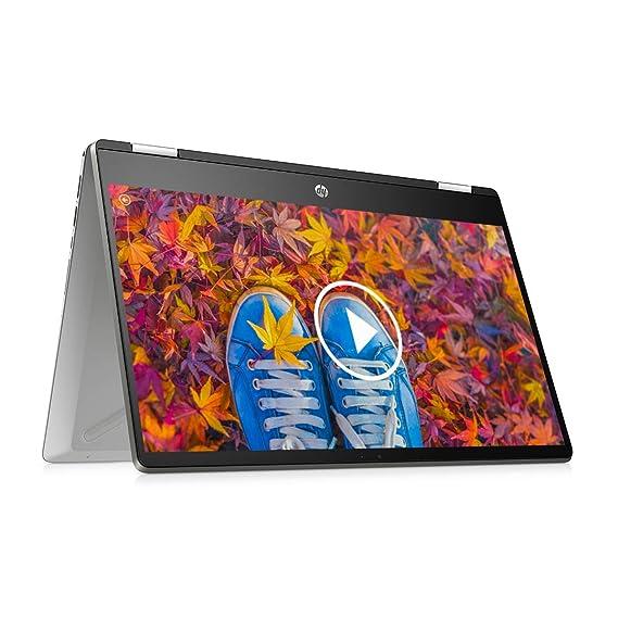 "HP Pavilion x360 (2021) 14"" (35.56cms) FHD Touchscreen Laptop, 11th Gen Core i5, 8 GB RAM, 512GB SSD, 2-in-1 Convertible, Windows 10, MS Office, Finger Print Reader (14-dw1038TU)"