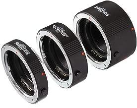 Fotga Electronic Auto Focus Macro Extension Tube Set for Canon EOS EF & EF-S Mount 5D2 5D3 5DIV 5DS 5DSR 6D II 7D/7DII 77D 80D 650D 750D 800D 1300D 1500D DSLR Cameras, 13mm+20mm+36mm Set