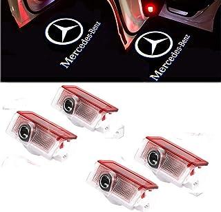 4 X Auto Puerta LED logo Iluminación lámpara de luz, Proyector Luz de bienvenida logotipo del coche