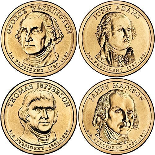 2007 D Presidential Dollar Choice About Uncirculated