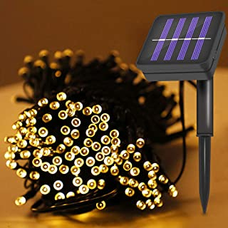 Solar String Lights 12m/40ft Chirstmas Lights With 8 Modes Fairy String Lights Led Solar Powered Fairy String Lights Indoo...