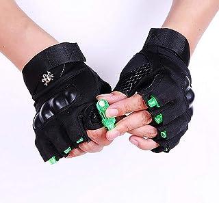 GBPHH Led-Handschuhe Angeln Handschuh Fitness Handschuh Nachtfischen Laser Rotes Licht Grün Weißes Licht Beleuchten Straßentanz Handschuh