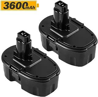 Best dewalt dc9096 18v xrp battery pack Reviews