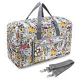 Pellor ボストンバッグ 旅行バッグ トラベルバッグ 自宅収納バッグ 撥水加工ショルダバッグ 50L大容量 超軽量 折りたたみ可能