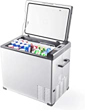 Aspenora Portable Refrigerator 48-Quart Mini Fridge with Freezer Compressor Car Freezer Portable Fridge for Camping Travel Picnic RV Outdoor Home Truck SUV Driver -4°F ~ 68°F - 12V/24V DC (48-Quart)