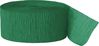 4 ROLLS, GREEN Crepe Paper Streamers 290 ft Total - Made in USA! by Greenbrier International Inc