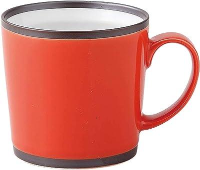 波佐見焼 和山窯 ワビマグカップ 大 300ml レッド 282812