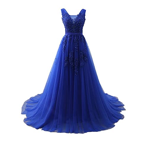 Royal Blue Plus Size Prom Dress: Amazon.com