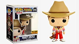 Funko Pop! Movies Back to The Future Marty McFly Cowboy Outfit Exclusive #816