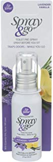 Air Scense 2125987 2 fl oz Lavender Vanilla Spray & Go - Case of 6