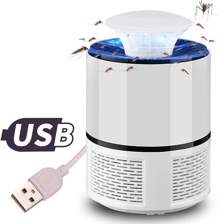 Insect Killer Light, Photocatalyst USB Mosquito Killer Household Silent Radiation LED Baby Fly Mosquito Killer (19  13CM),Black