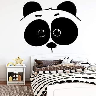 WSLIUXU Cute Panda Vinyl Wallpaper Roll Home Decor Living Room Bedroom PVC Wall Decal Wall Sticker Home Gardening Green L 43cm X 50cm