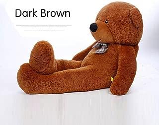 YXCSELL 5.5 FT 71 Inches Brown Teddy Bear Super Soft Huge Plush Stuffed Animal Toys Giant Teddy Bear Doll