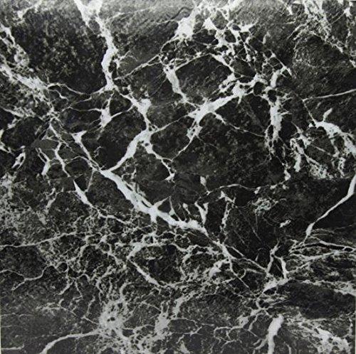 30 Piastrelle per Pavimento in Vinile Effetto Marmo Adesive