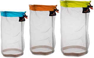 Sharplace メッシュスタッフサックス 巾着袋 ナイロンメッシュ 収納用品 3個入