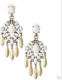 2015 Fashion Bohemian Jewelry Vintage Style Hollow Out Flower Chandelier Dangle Earrinfor Women Pendientes Brincos