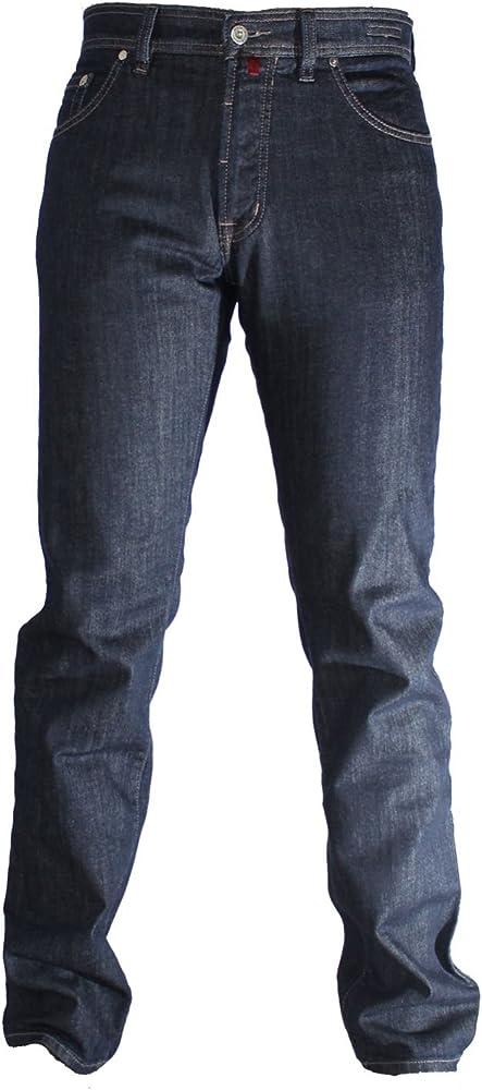 Pierre cardin - jeans  da uomo , 62% poliestere, 16% cotone, 20% viscosa, 2% elastan 3196-4728-82