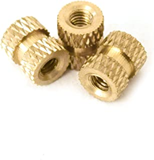 M2.5 Brass Insert 4.5 mm Length 10,000 pcs Heat Sink or Injection Mold Female Thread J/&J Products