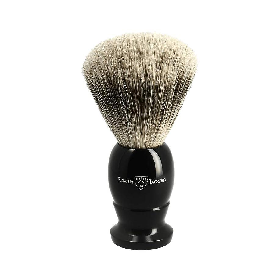 圧倒するボウル従事したエドウィンジャガー ベストバッジャーアナグマ毛 エボニーシェービングブラシ大3EJ876[海外直送品]Edwin Jagger Best Badger Ebony Shaving Brush Large 3EJ876 [並行輸入品]