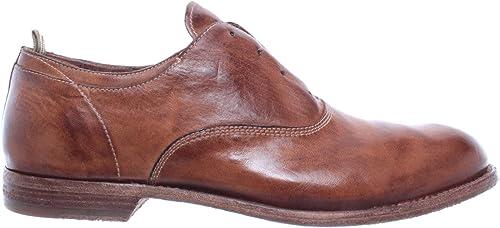 OFFICINE CREATIVE Herren Klassische Schuhe Graphis  005 Novak Corda Leder Braun