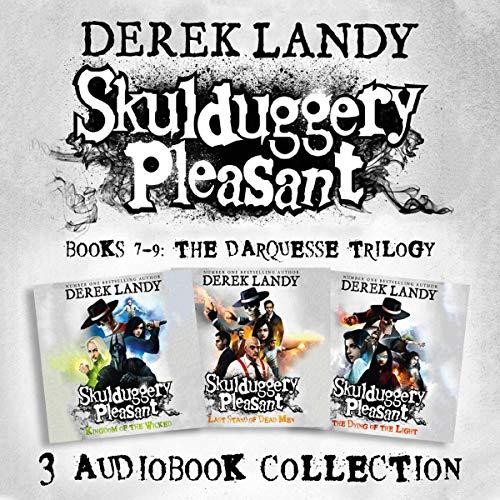 Skulduggery Pleasant: Audio Collection, Books 7-9 Titelbild