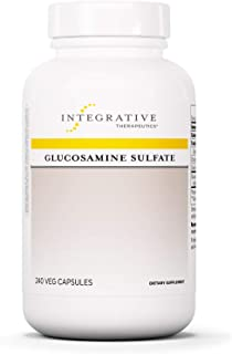 Integrative Therapeutics - Glucosamine Sulfate - Joint Function Support - 240 Capsules