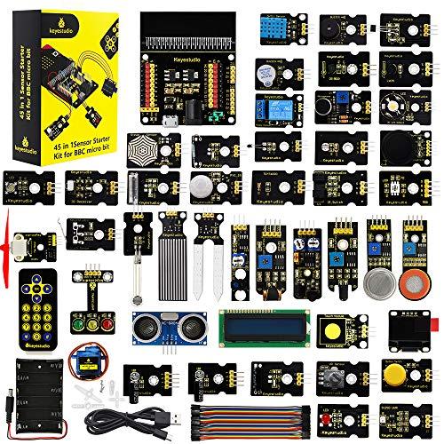 KEYESTUDIO 45 Sensors Starter Kit f…
