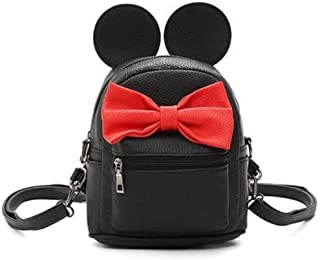 Cute Mouse Ears Mickey Minnie Backpack Handbag by A2ZOOM