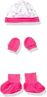 Amazon Brand - Jam & Honey Baby-Girl's Cotton Clothing Set