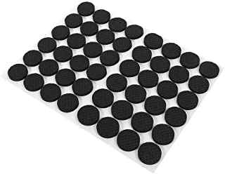 SPENDEAL Furniture Felt Pads, 15 Pieces Self Adhesive Square Rubber Furniture Feet Floor Protector Pads Anti-Skid Scratch ...