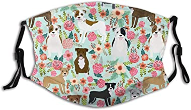 dgffgf Adjustable Decorative Cover,Floral Pitbull Ourdoor Covers