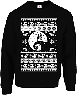 Graphic Impact Inspired Before Christmas Ugly Sweater Nightmare Jack Christmas Sweater Xmas Jumper