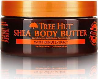 Tree Hut 24 Hour Intense Hydrating Shea Body Butter Hawaiian Kukui, 7oz, Hydrating Moisturizer with Pure Shea Butter for Nourishing Essential Body Care