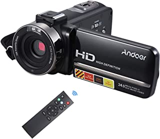 "Hdv-3051Str,Andoer HDV-3051STR 24Mega Pixels Digital Video Camera 1080P Full HD with Night-shot Digital Camcorder 3.0"" Rot..."