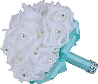 turquoise flower bouquet
