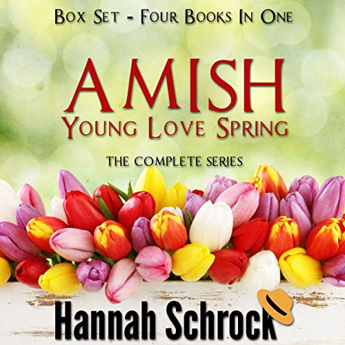 Amish Young Spring Love Box Set audiobook cover art