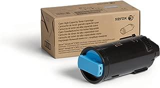 Genuine Xerox Cyan High Capacity Toner Cartridge (106R03863) - 5,200 Pages for use in VersaLink C500/C505