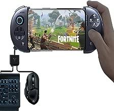 荒野行動 2 in 1 ゲームパッド ワイヤレス こうや行動 PUBGゲーム コントローラー Bluetooth 伸縮できる 飛智WEE2コントローラーゲームパッド ゲーム日本語説明書マウス キーボード コンバーター USB android iphone システム