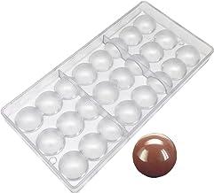 Goldbaking Semi Sphere Chocolate Mould PC Polycarbonate Hemisphere Chocolate Mold (s 1.2inch)